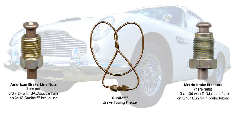 Brake Tubing Pretzle American Double Flare And Metric